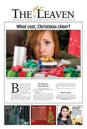 What cost, Christmas cheer? - The Leaven