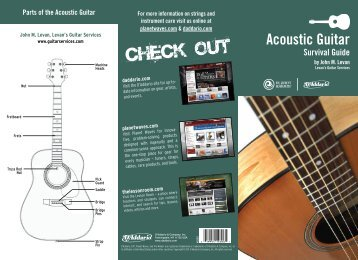 Acoustic Guitar Survival Guide - D'Addario