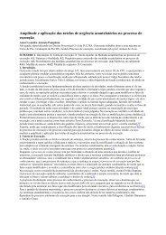 Amplitude e aplicação das tutelas de urgência ... - Portal Forense