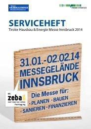 Serviceheft - Tiroler Hausbau & Energie Messe