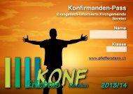Konf-Heft 2013:4 - Evangelische Kirchgemeinde Sevelen