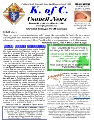 Volume 55. Issue 3 - Effingham KC Hall