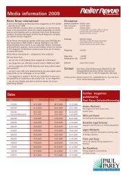 Media information 2009