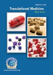 Translational Medicine - OMICS Group