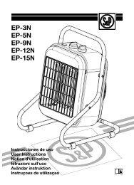 EP-3N EP-5N EP-9N EP-12N EP-15N P-3N P-5N P-9N P-12N P-15N