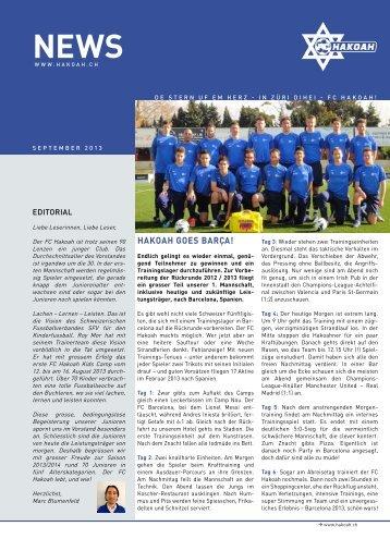 FC Hakoah News