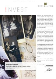 Ausgabe Nr. 4 / 2011 - Walde & Partner Immobilien