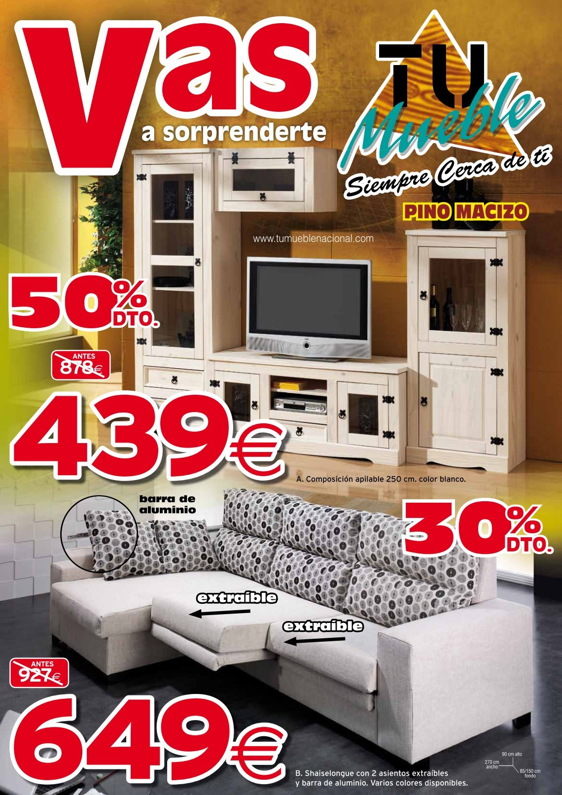 1 free Magazines from MUEBLESMAECOPI.ES