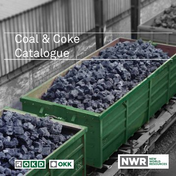 Coal & Coke Catalogue - OKD, a.s.