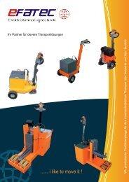 Katalog 2014 - efatec Elektrofahrzeugtechnik GmbH