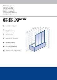 GFW1/FW1 - GFW2/FW2 GFW3/FW3 - FX3 - Herbovital