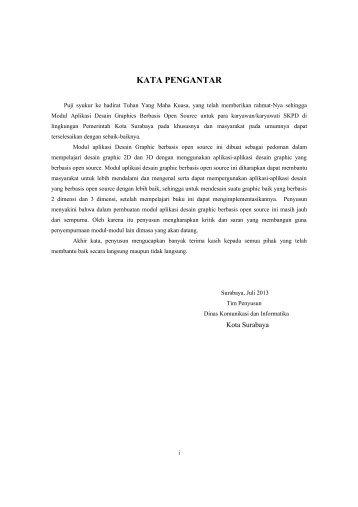 Modul Desain Graphic - Pemerintah Kota Surabaya