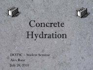 Concrete Hydration