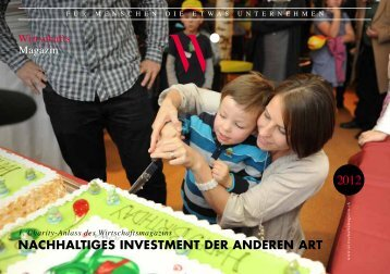 nachhaltiges investment der anderen art - Stier Communications AG