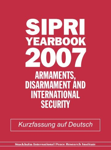 YEARBOOK - SIPRI