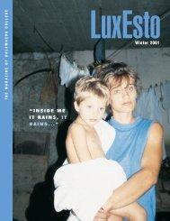 Download LuxEsto Winter 2001 - Zinta Aistars