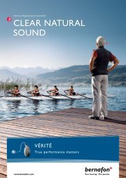 CLEAR NATURAL SOUND - Arafura Audiology