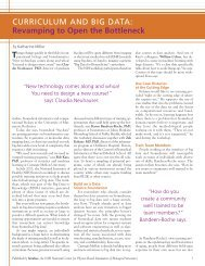 CURRICULUM AND BIG DATA - Biomedical Computation Review