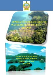 approach paper on ground water quality issues in islands