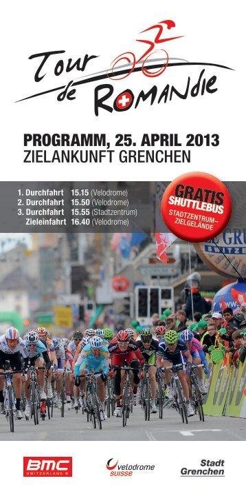 Informationen zur Zielankunft und zum grossen Radsportfest finden