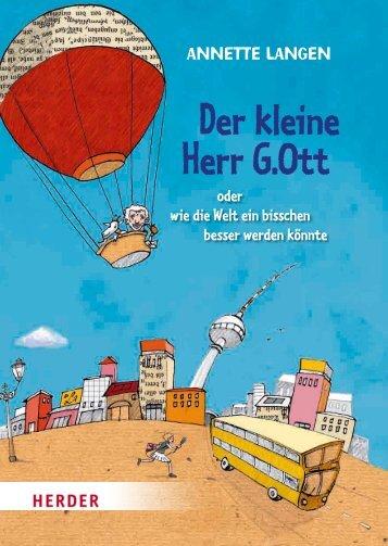 Der kleine Herr G.Ott - Annette Langen