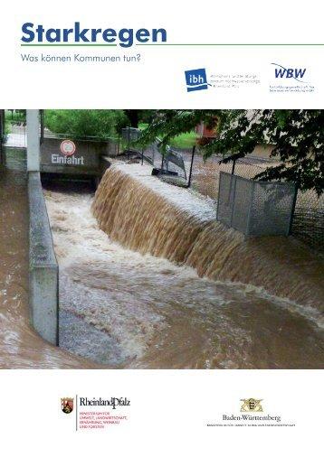 Starkregen - WBW Fortbildungsgesellschaft