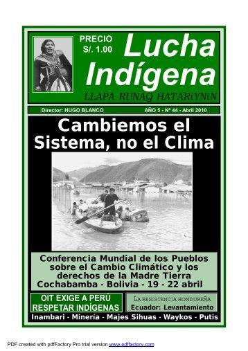 E:\LUCHA INDIGENA 44 para canso - Lucha Indígena