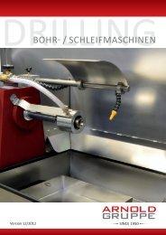 Bohr- und Schleifmaschinen 2012.indd - Arnold Gruppe