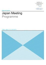 Programme for Printing - World Economic Forum