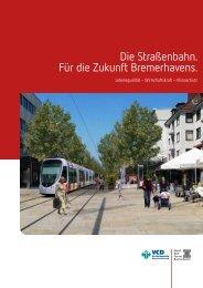 Die Straßenbahn. Für die Zukunft Bremerhavens.