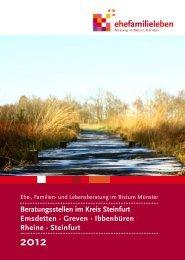 Jahresbericht 2012 Beratungsstellen im Kreis Steinfurt Emsdetten ...