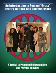 Introduction to Roma culture and issues - compas