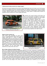 Compte rendu rally del Ticino 2007 - Championnat suisse des rallyes