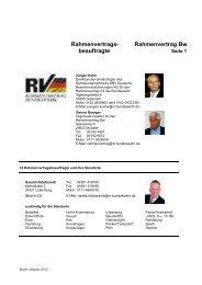 Rahmenvertrags- Rahmenvertrag Bw beauftragte - Foeg.de