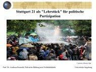 Stuttgart 21 als