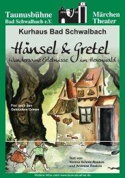 Hänsel & Gretel - Veranstaltungen