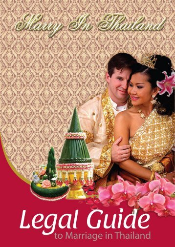 to Marriage in Thailand - Thai Embassy
