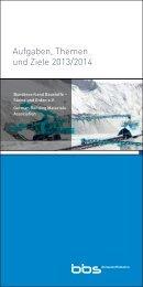Aufgaben, Themen und Ziele 2013/2014 - Bundesverband Baustoffe ...