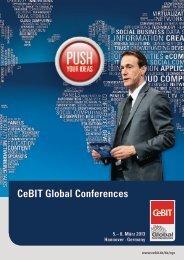 CeBIT Global Conferences - Factsheet