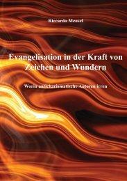 Evangelisation in der Kraft von Zeichen und Wundern