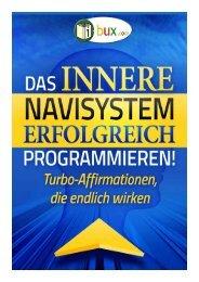 Das innere Navisystem erfolgreich programmieren - I-Bux.Com