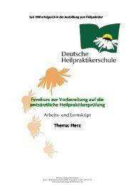 Herz - Fernakademie der Deutschen Heilpraktikerschule