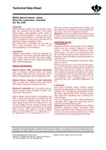 2100 BIOFA Steinöl farblos-farbig c_e