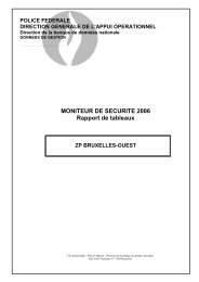 Moniteur de sécurité 2006 ZP Bruxelles-Ouest