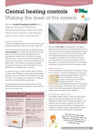 Central heating controls - North Somerset Council