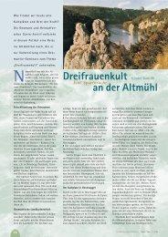 Dreifrauenkult an der Altmühl - Hagia Chora Journal