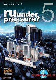 R U Under Pressure 5 Download our latest brochure ... - Pump World