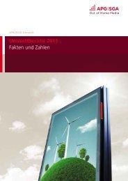 Umweltbericht 2013 Fakten und Zahlen - bei APG