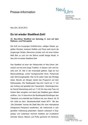 Download Pressetext (pdf) - Neu-Ulm