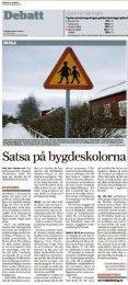 Debatten om skolorna i Norrtälje fortsätter